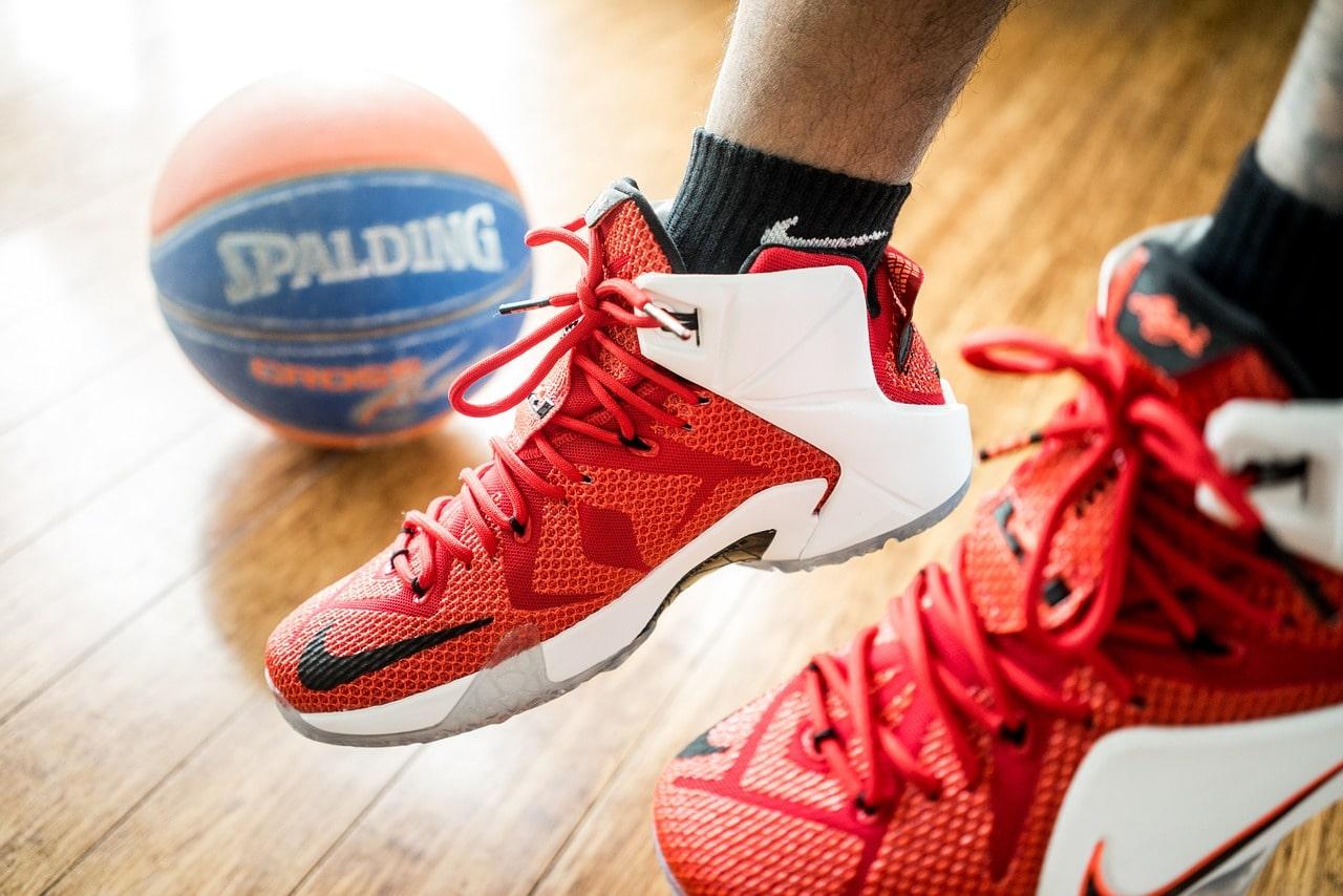 nowoczesne buty do koszykówki (kosza)