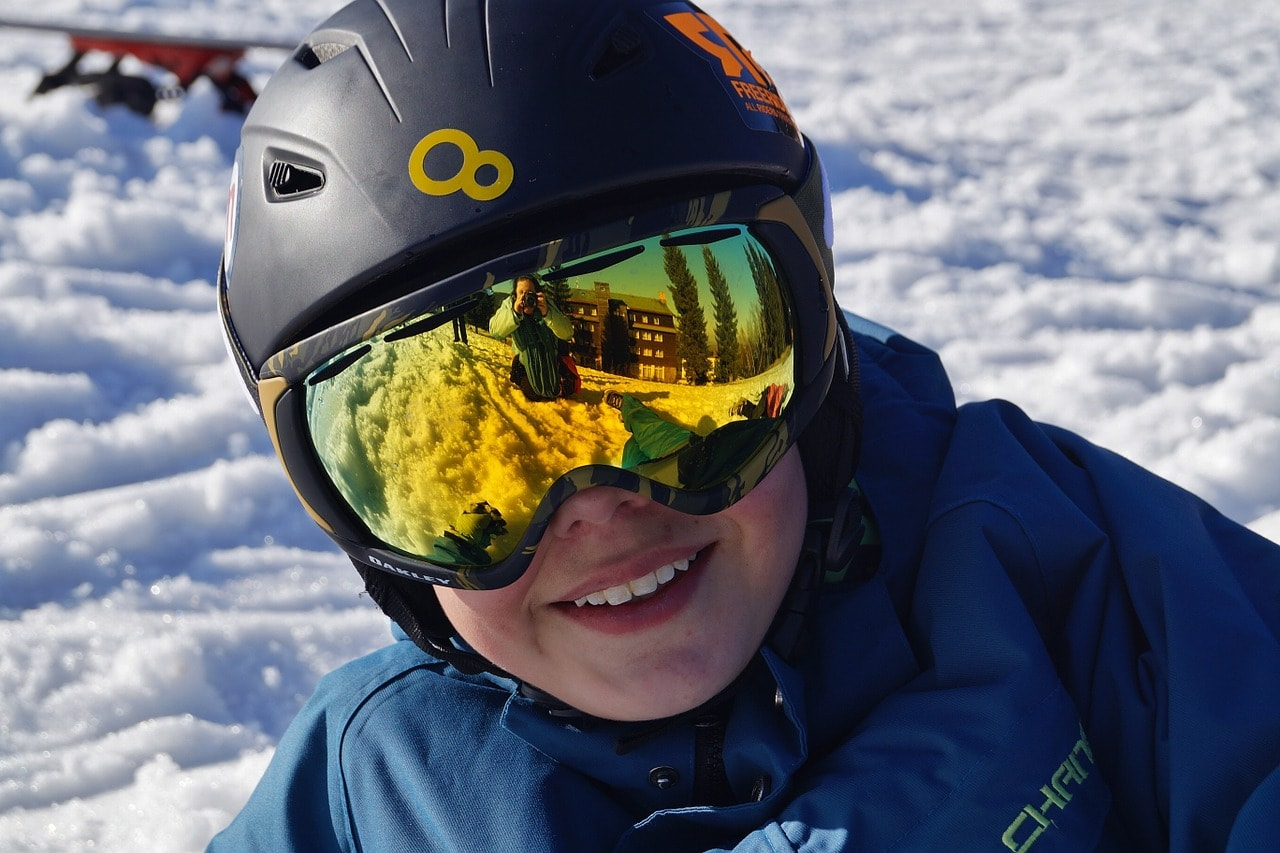 gogle - okulary narciarskie