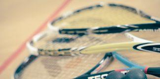 sprzęt do gry w squasha