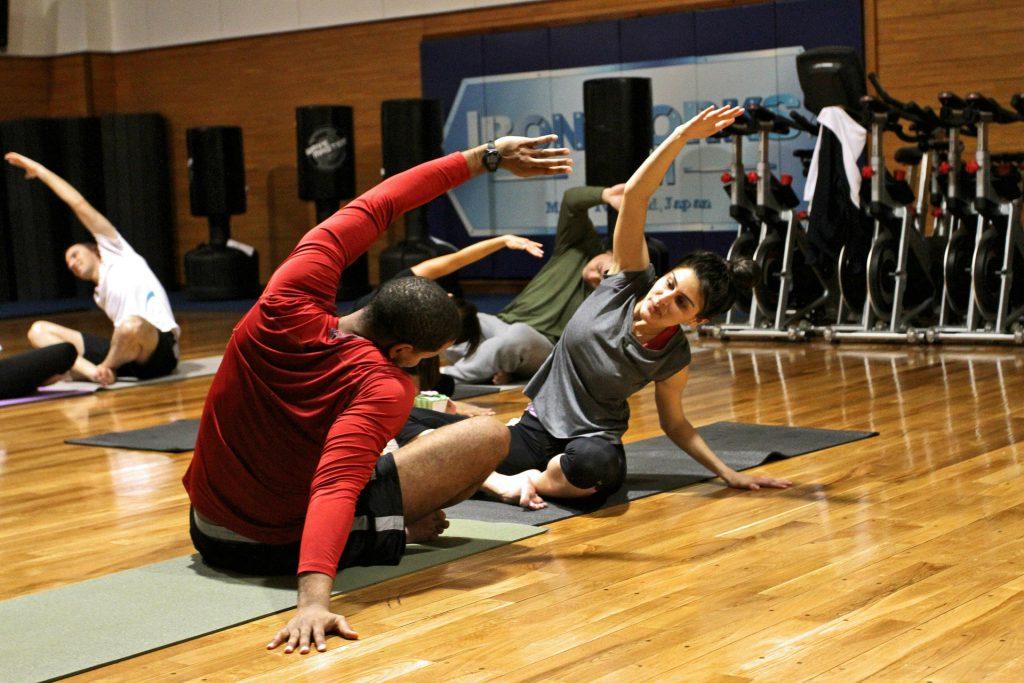 wyposażenie klubu fitness